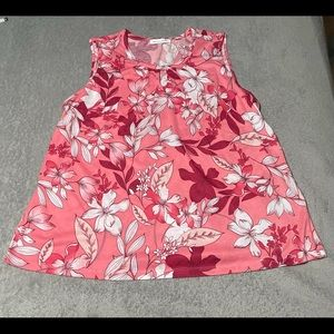 French Twist cute keyhole, sleeveless top size XXL. Excellent condition.
